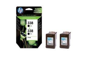 HP BLACK N.338 MULTIPACK 2 ΤΕΜ CB331E